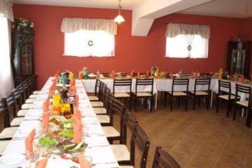 Agroturystyka u Chamera - sala 45 osób